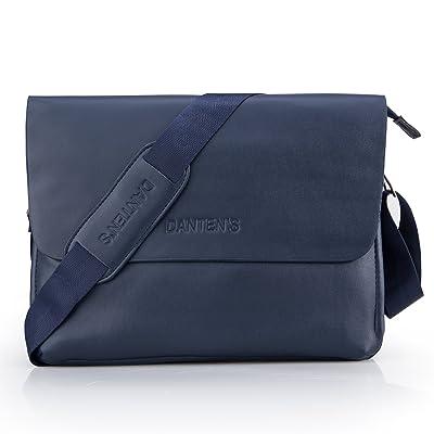 6f8c66f9af Bienna Men Bags Crossbody Shoulder Bag Blue Genuine Leather Business Messenger  Bag for Work Travel Office
