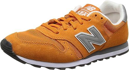 New Balance Herren 373 Modern Classics Sneaker, Orange, 49 ...