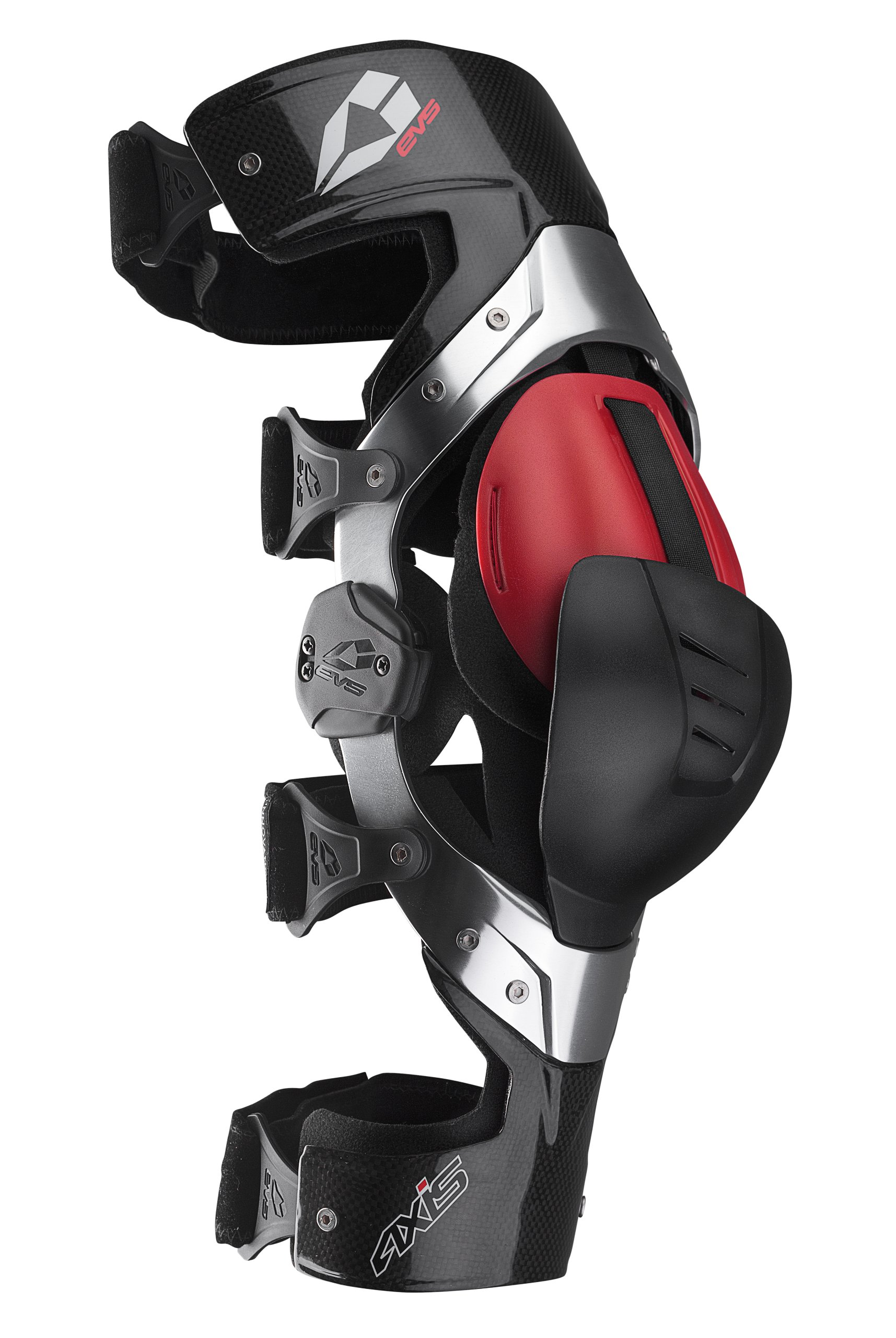 EVS Sports Axis Pro Left Knee Brace (Carbon, Large)
