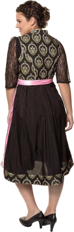 Tablier 717817 Ulla Popken Femme Grandes Tailles Robe Traditionnelle Oktoberfest