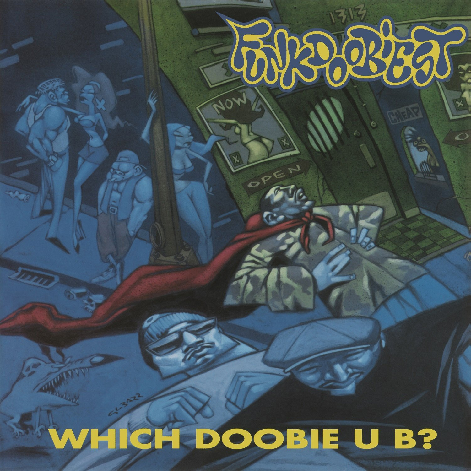 Vinilo : Funkdoobiest - Which Doobie U B? (Holland - Import) {OU}