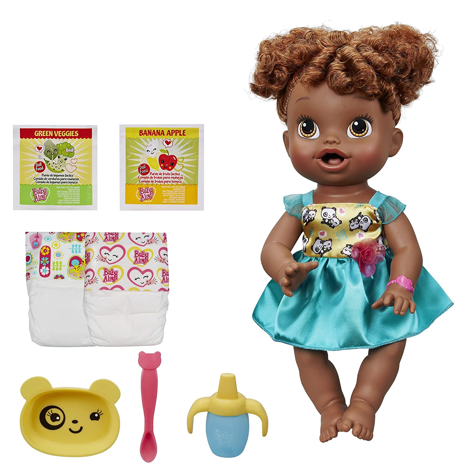 Amazon Com Baby Alive My Baby All Gone African American Doll