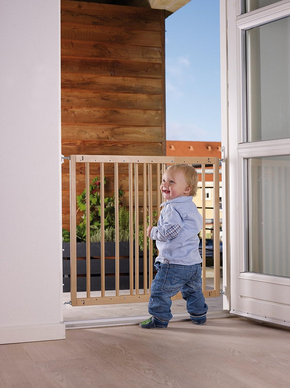 babydan multidan extending wooden safety gate (beech new version  - babydan multidan extending wooden safety gate (beech new version)amazoncouk baby