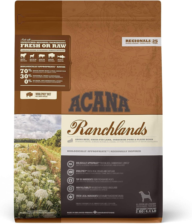 ACANA Ranchlands Comida para Perros - 2000 gr