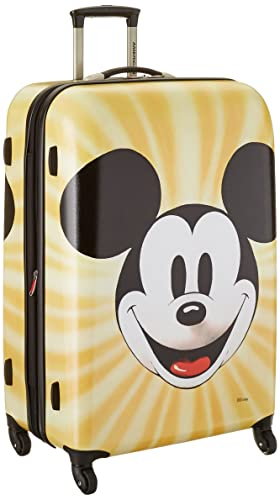 American Tourister Disney Mickey Mouse Face Hardside Spinner 28, Multi, One Size