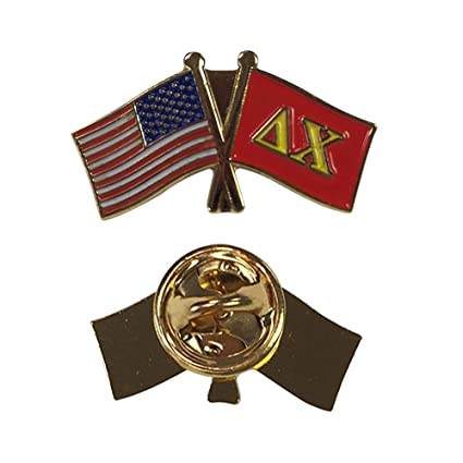 Amazon Delta Chi Fraternity Usafraternity Flag Lapel Pin