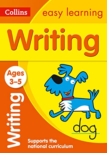 Writing Ages 3-5: Collins Easy Learning (Collins Easy Learning Preschool)