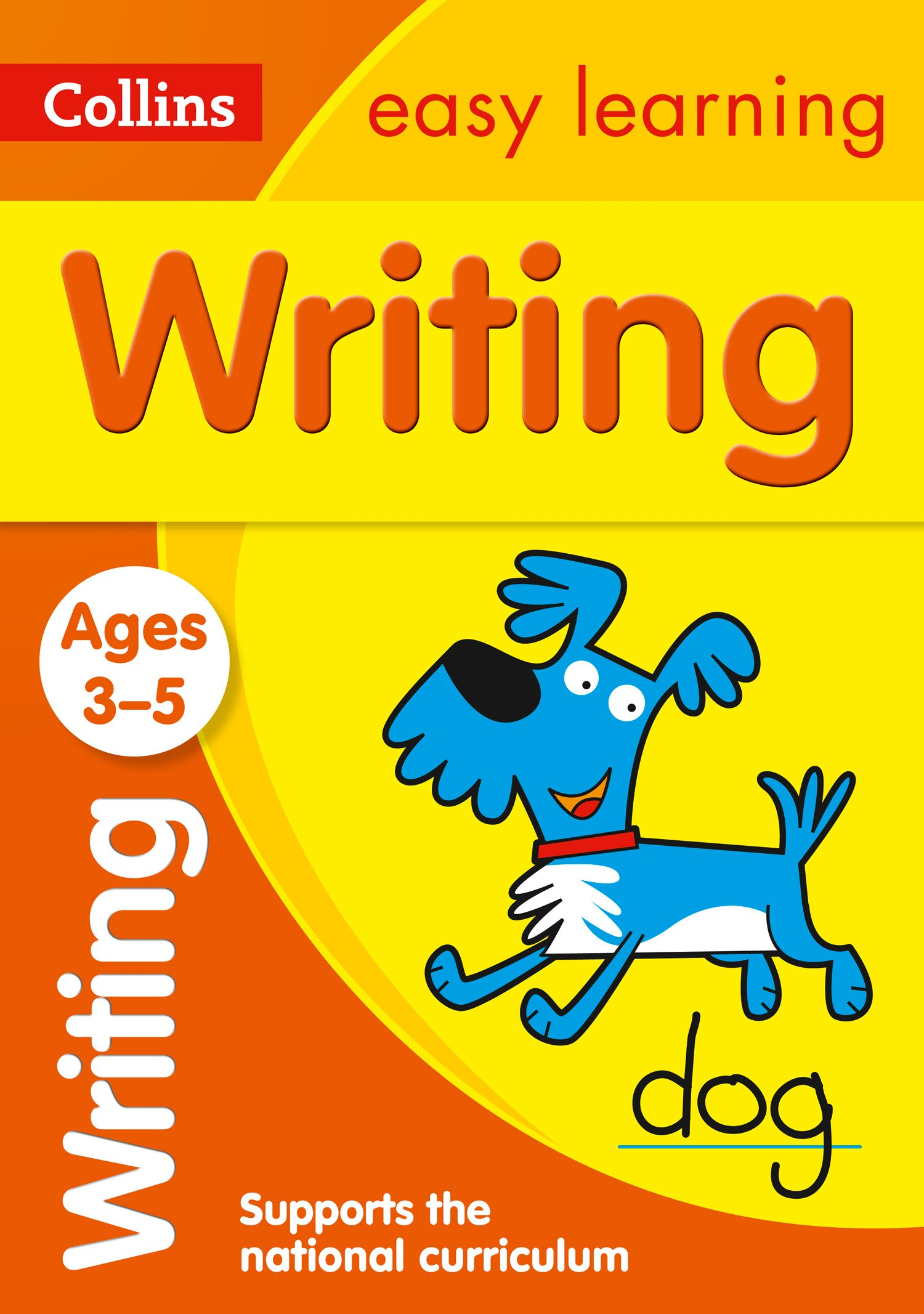 Writing  Ages 3 5  Collins Easy Learning Preschool
