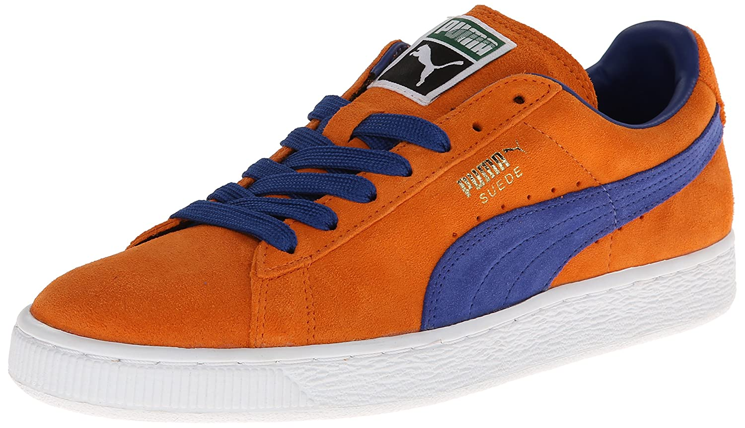 PUMA Adult Suede Classic Shoe B00GV4HPUW 8 M US|Russet Orange/Limoges
