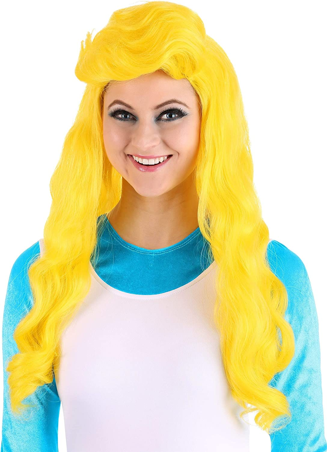 Fun Costumes Womens Smurfette Wig from The Smurfs Standard