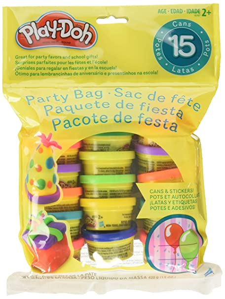 Play-Doh Party Bag Dough (15 Count) best stocking stuffers for toddlers