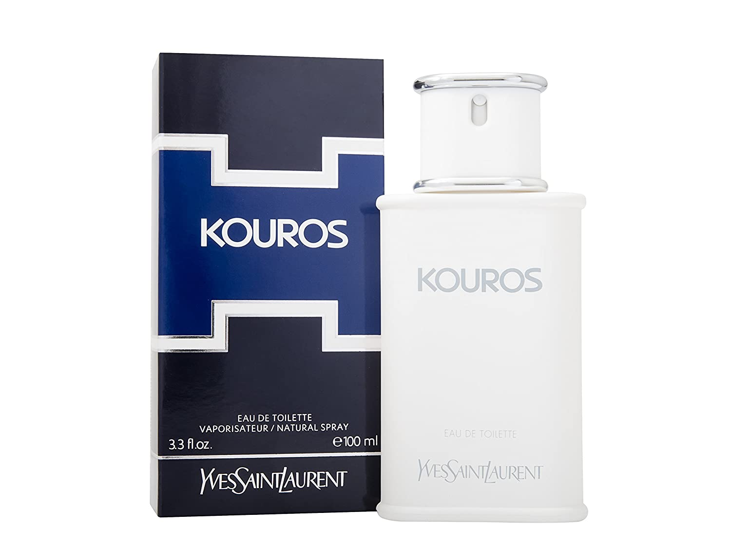 Yves Saint Laurent Kouros Eau de Toilette Vaporizador 100 ml: Amazon.es