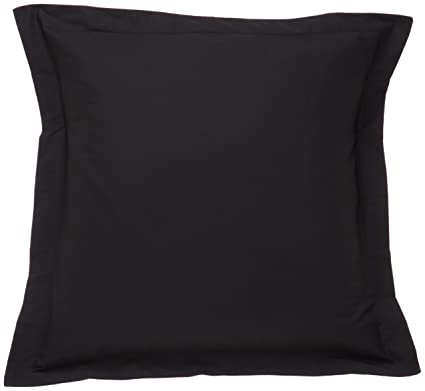 Amazon Fresh Ideas Tailored Poplin Pillow Shams Gorgeous Beauteous Decorative Euro Pillow Shams