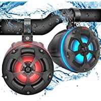 "$109 » 2-Way Waterproof Off Road Speakers - 4"" 800W Active Passive Marine Grade Wakeboard Tower…"