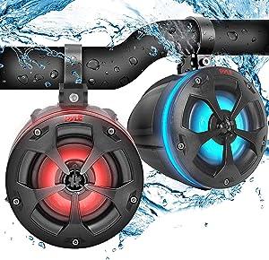 2-Way Dual Waterproof Off-Road Speakers - 4