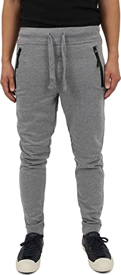 863d5ab3eb9 Hat and Beyond Mens Fleece Jogger Pants Classic Casual Slim at ...