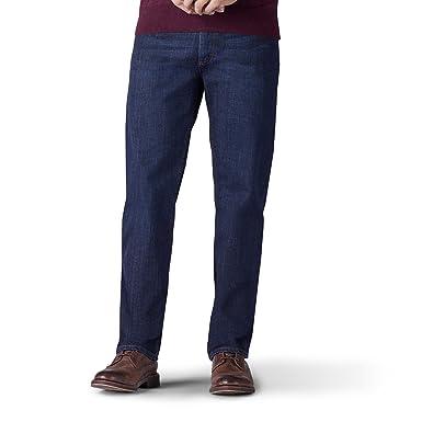 136d4329cd362 Lee Men's Premium Flex Denim Regular Fit Jeans: Amazon.co.uk: Clothing