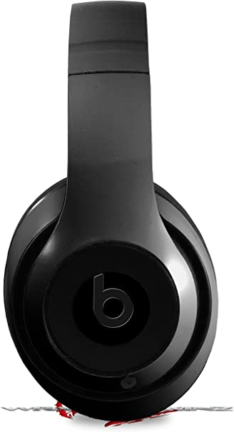 Amazon Com Skin Decal Wrap Works With Beats Studio 2 And 3 Wired And Wireless Headphones Solids Collection Color Black Skin Only Headphones Not Included Home Audio Theater