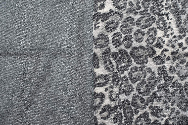 49383997f1d2 Description du produit. styleBREAKER écharpe douce et tendance avec un motif  léopard ...