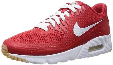free shipping 0069c a0f61 Nike Herren Air Max 90 Ultra Essential Turnschuhe, Rojo (University Red Wht-