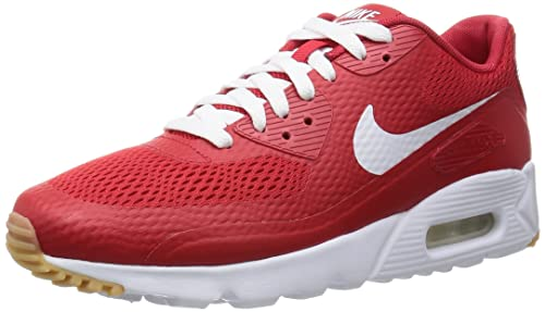 best sneakers 080b0 60fe0 Nike Uomo Air Max 90 Ultra Essential Scarpe Sportive Rosso Size  43