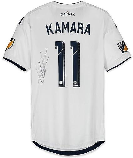 Amazon.com: Ola Kamara LA Galaxy Autographed Match-Used ...
