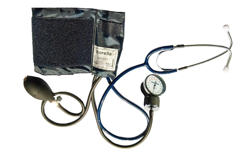 Medidor de presión arterial aneroide con Fonendoscopio: Amazon.es: Salud y cuidado personal