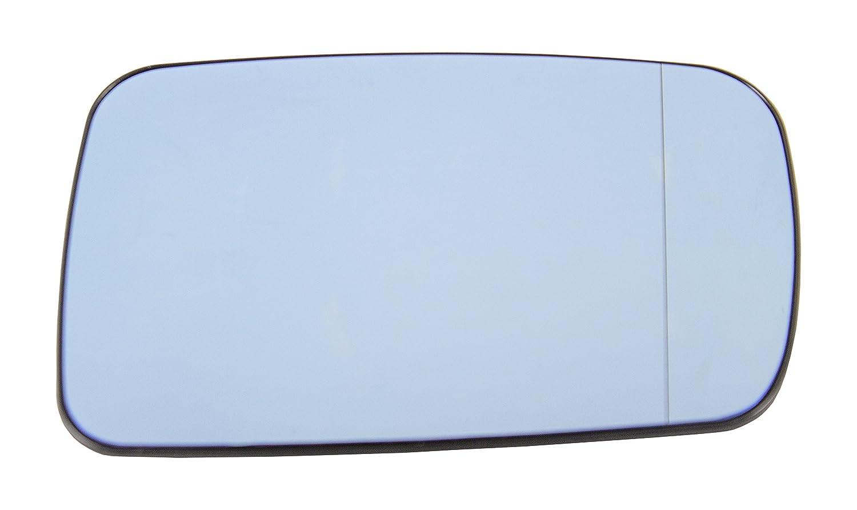 TarosTrade 57-0350-R-50642 Vetro Specchietto Retrovisore Riscaldabile Blu Lato Destro DoctorAuto LTD