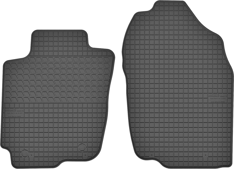 Motohobby Gummimatten Vorne Gummi Fußmatten Satz Für Toyota Rav4 Iv 2012 2018 2 Teilig Passgenau Auto