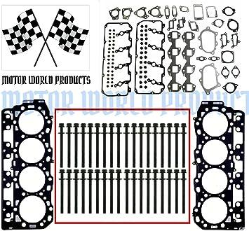 230-4201 6.6L Duramax Head Stud Kit Replacement for GM 6.6L Diesel Duramax LB7 LLY LBZ LMM LML 2001 2002 2003 2004 2005 2006 2007 2008 2009 2010 2012 2013 2016 by LAFORMO