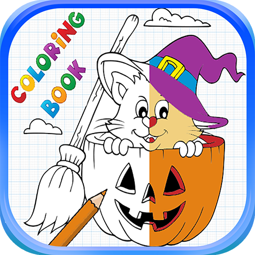 Animated Halloween Wallpaper For Android (Halloween Coloring Book For)