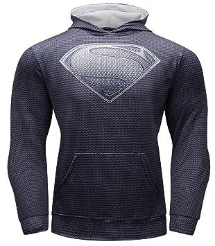 Cody Lundin Sudadera para Hombre Logo de Superhéroe Casual Camisa de Entrenamiento Sudadera para Hombre: Amazon.es: Deportes y aire libre