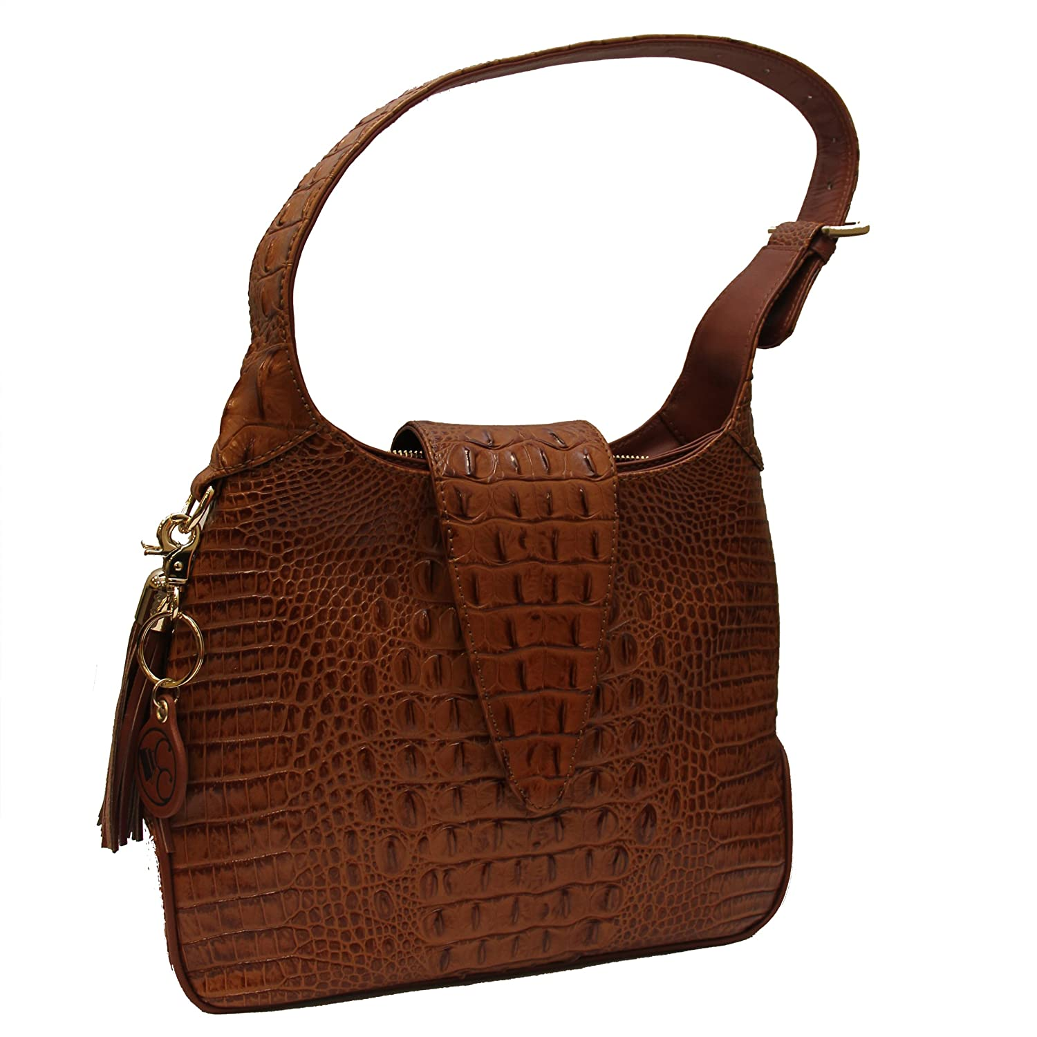 Amazon.com: Concealed Carrie Concealed Carry Hobo Handbag: Shoes