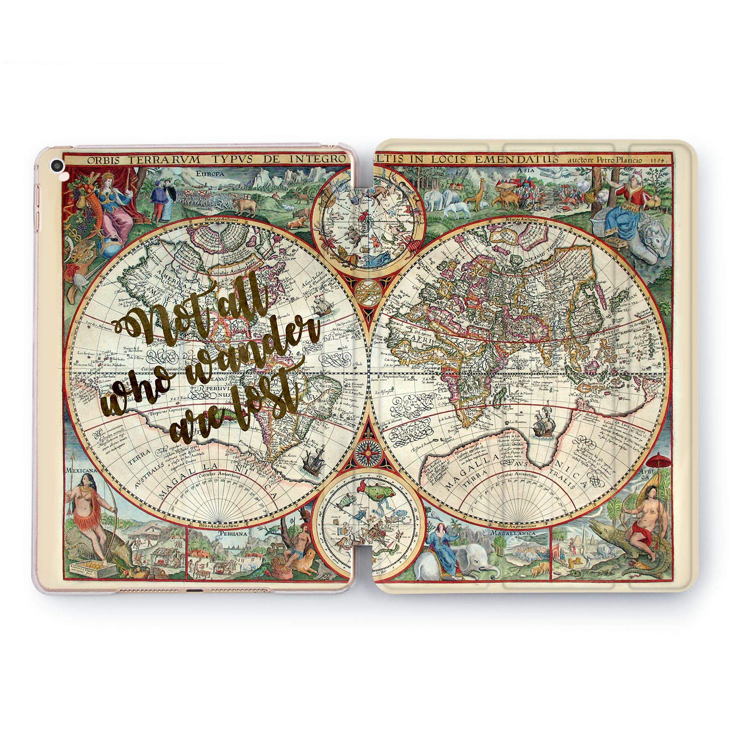 Amazon.com: Wonder Wild Not All Who Wander are Lost iPad 5th 6th