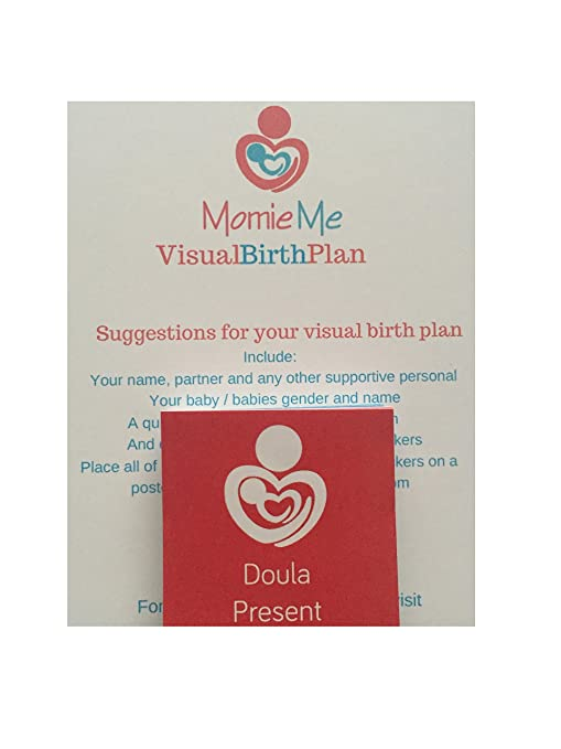 amazoncom visual birth plan stickers baby