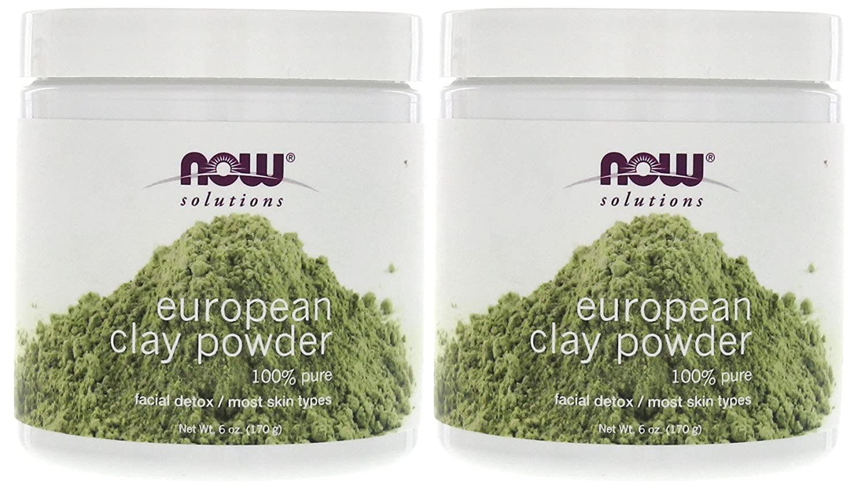 Solutions European Clay Powder Now Foods 6 oz Powder
