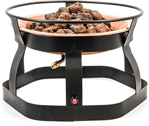 Camco 51210 18-Inch Portable Deluxe Outdoor Fire Pit