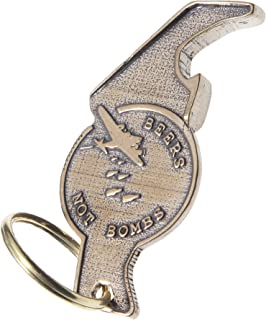 """product image for Beers Not Bombs""""The Raptor"""" Bottle Opener Key Chain"""