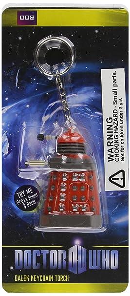Underground Toys Wesco Doctor Who - Peluche Dalek (llavero con luz LED), color rojo
