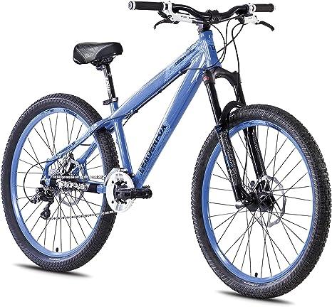 26 Aluminio Dirt Bike Leader Fox drag star bicicleta MTB Frenos de Disco Azul: Amazon.es: Deportes y aire libre