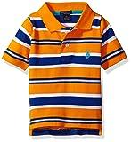 U.S. Polo Assn. Boys' Classic Striped Polo