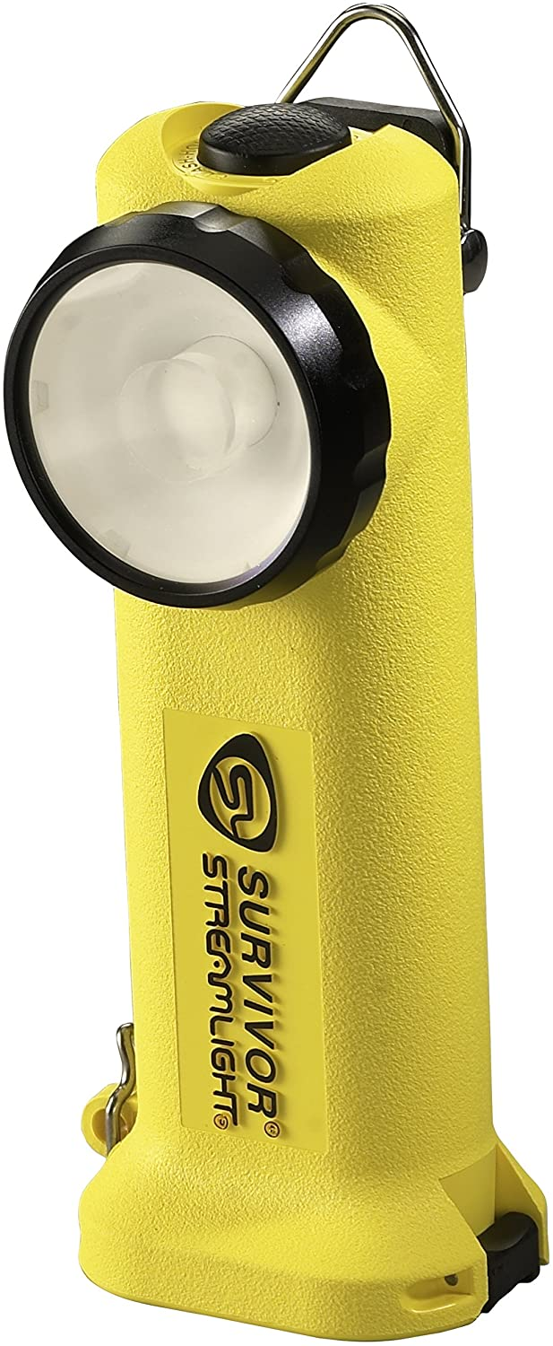 Streamlight 90541 Survivor LED Right Angle Flashlight, 6-3/4-Inch, Yellow