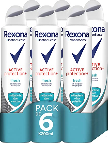 Rexona Active Pro+ Desodorante Antitranspirante Frescor, Mujer ...