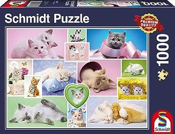 Schmidt Spiele Schmusekatzen Puzzle - Rompecabezas (Puzzle ...