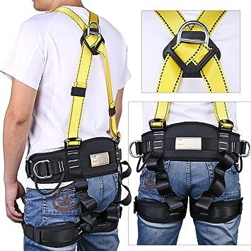 SVNA Cinturón de Seguridad Escalada Cuerpo Desmontable Arnés de ...