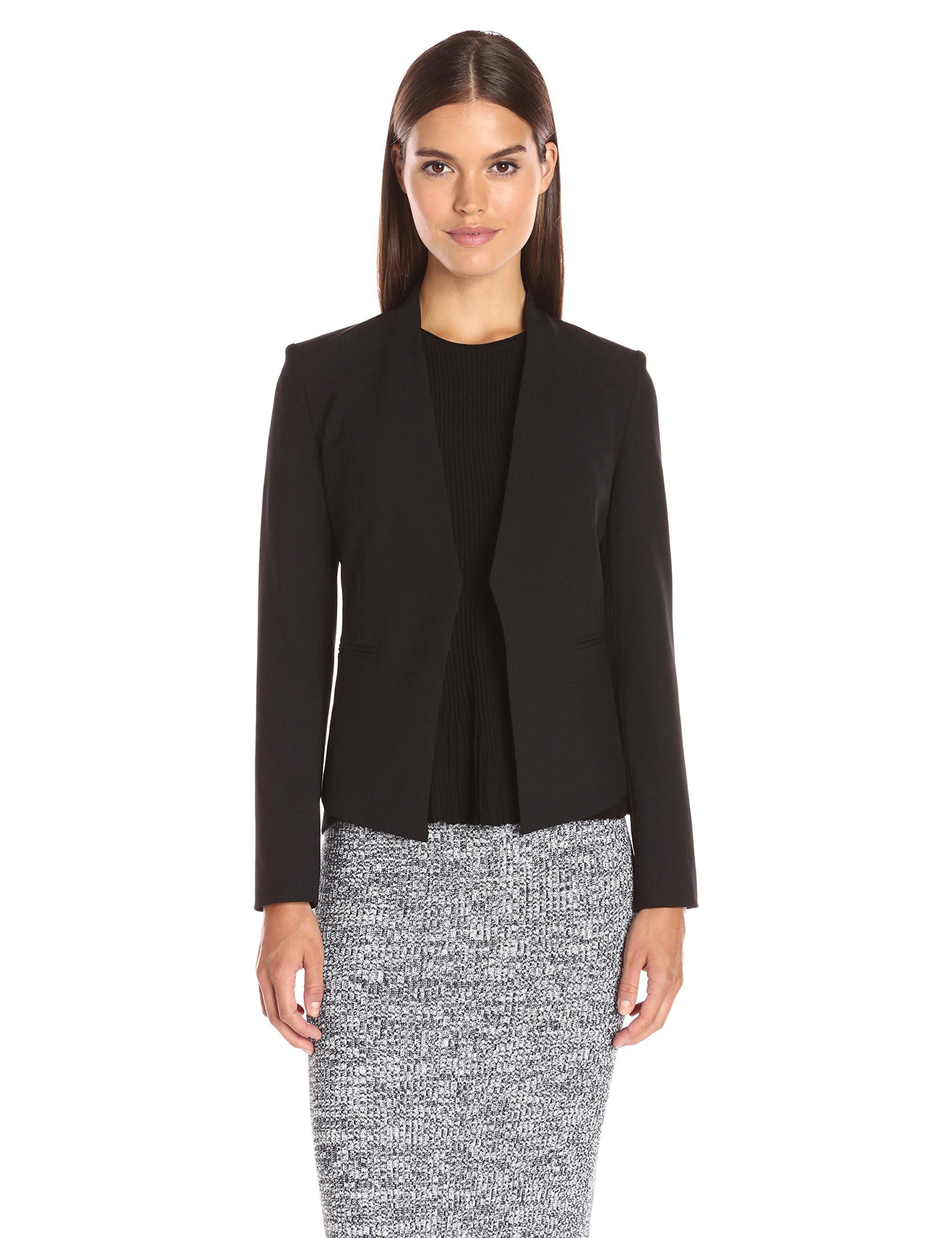 Theory Women's Lanai Edition 4 Jacket, Black, 8