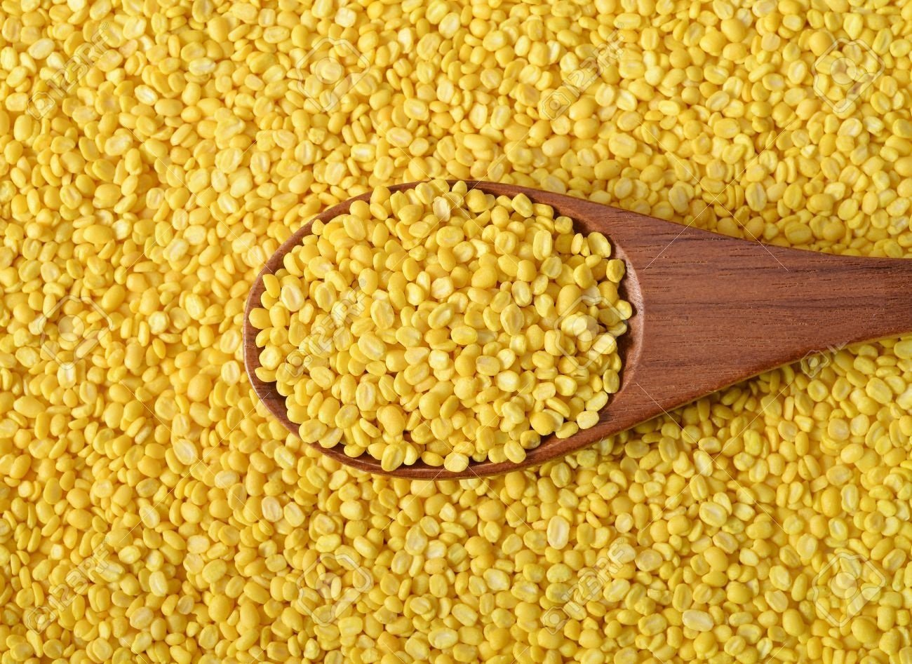 Nobility Unpolished Mung Lentils 100g / 3.53oz - Indian Split Yellow Moong Dal - Pure and Healthy natural mung bean - Single Origin pulses
