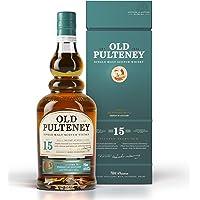 Old Pulteney 15 Year Old Single Malt Scotch Whisky, 700 ml