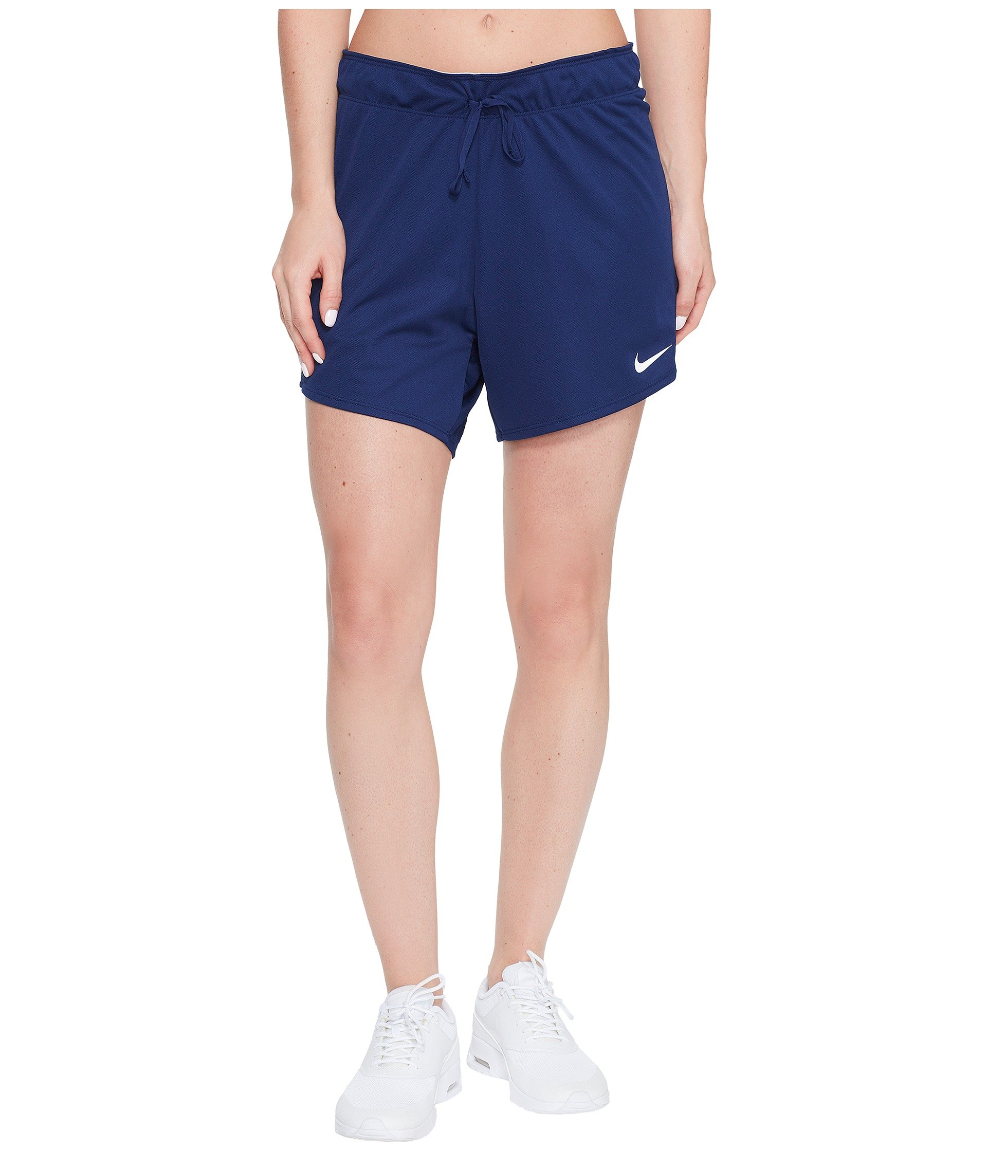 Nike Women's 5'' Dry Dri-Fit Attack Shorts Navy Blue 885273 429 (Small 5) by Nike