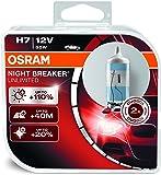 OSRAM NIGHT BREAKER UNLIMITED H7, Halogen headlamp, h7 headlight bulb, 64210NBU-HCB, 12V passenger car, duobox (2 units)